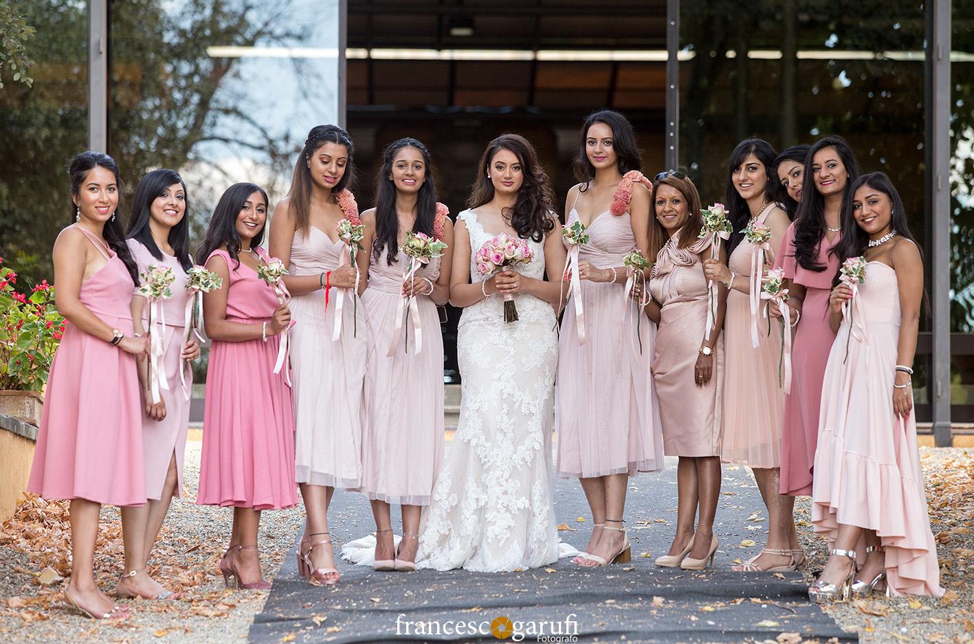elegant indian women in Italy