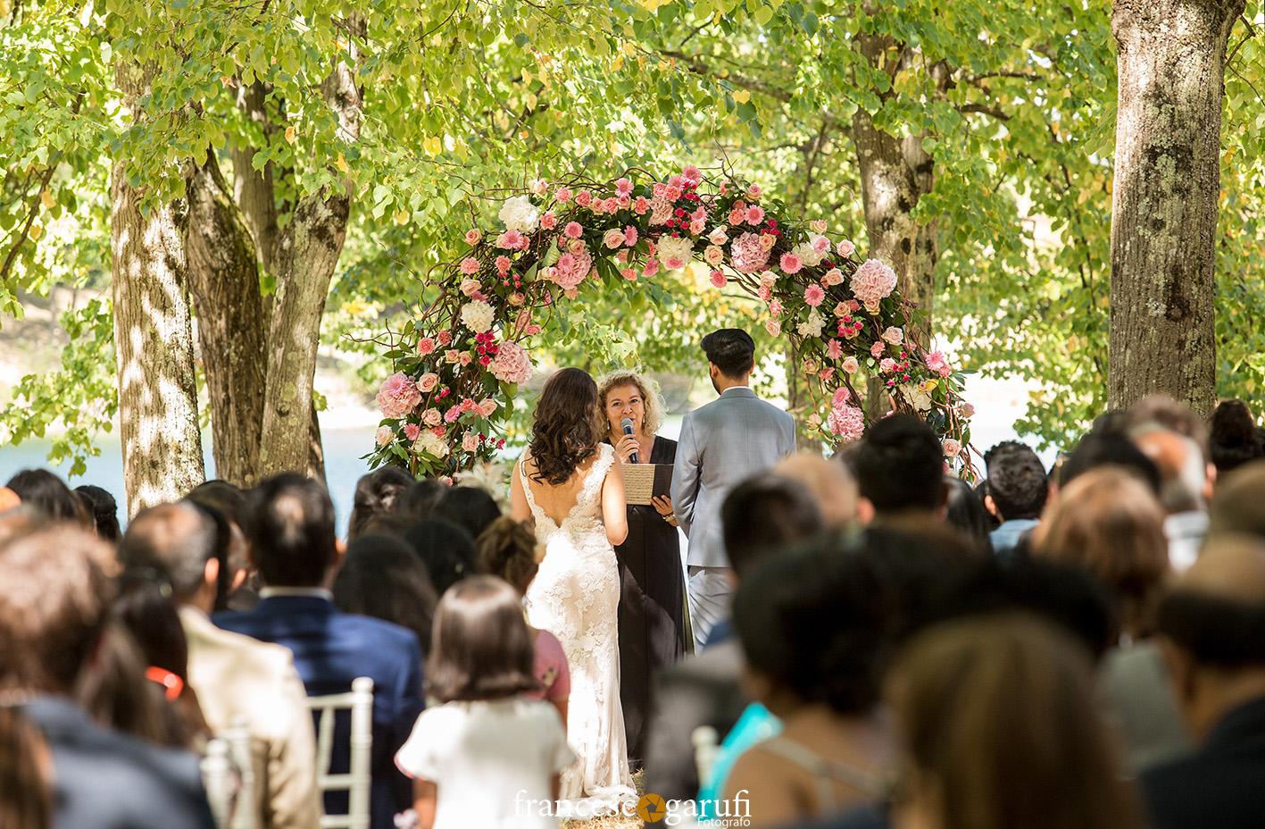 matrimonio indiano all'aperto in Italia