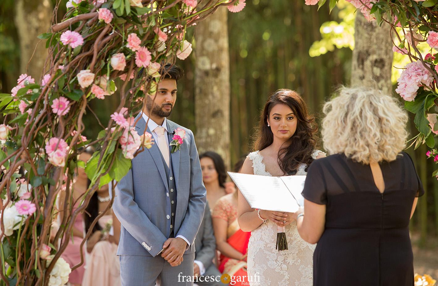 matrimonio civile di una coppia indiana in Toscana
