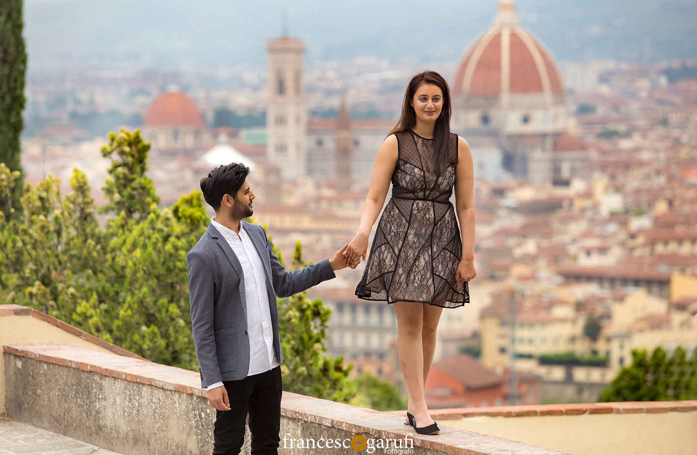 fotoracconto prematrimonio Firenze