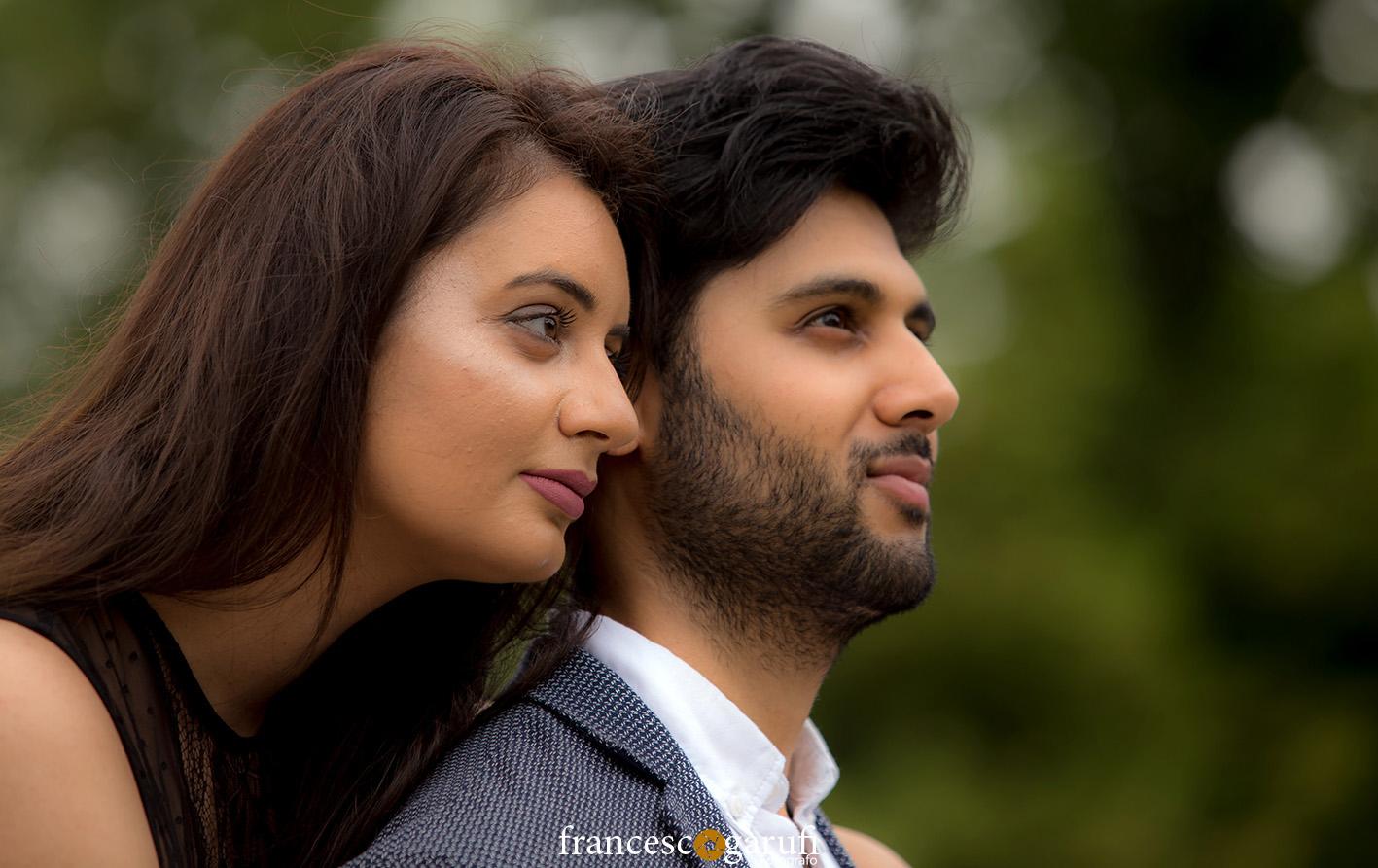 coppia indiana nel pre matrimonio a Firenze